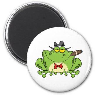 Gángster de la rana imán
