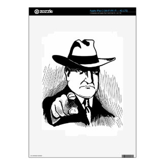Gangster Decal For iPad 3