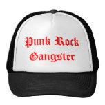 Gángster del punk rock gorros bordados