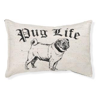 Gángster divertido del perro de la vida del barro cama para perro pequeño