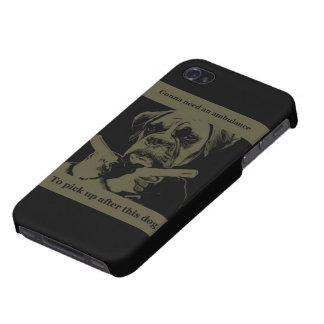 gangster dog iphone case