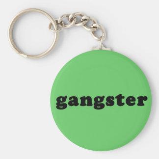 GANGSTER Generic T shirt Basic Round Button Keychain