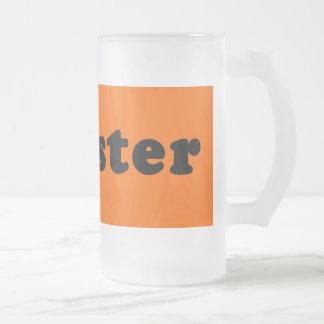 GANGSTER Generic T shirt 16 Oz Frosted Glass Beer Mug