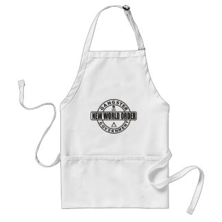 Gangster Government Accessories Adult Apron