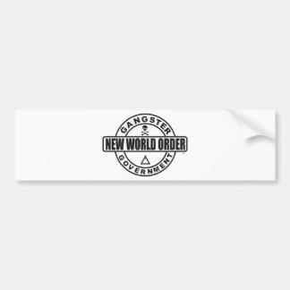 Gangster Government Accessories Bumper Sticker