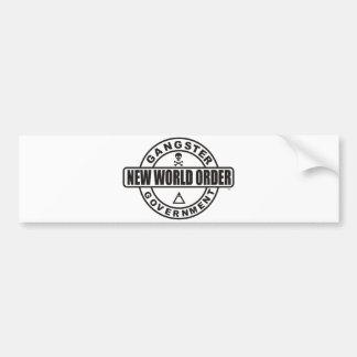 Gangster Government Bumper Sticker