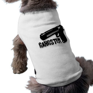 Gangster Gun Pet Tshirt