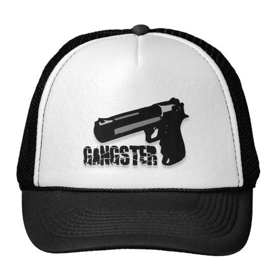 Gangster Gun Trucker Hat