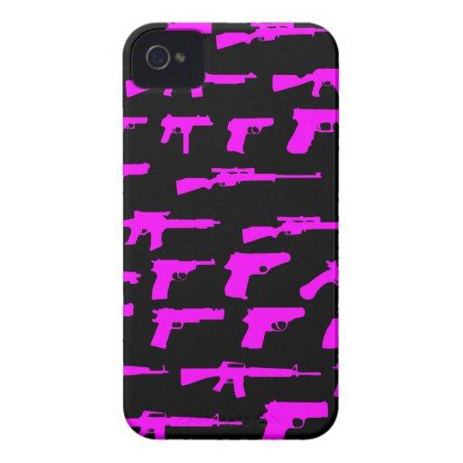Gangster Guns iPhone 4 Case