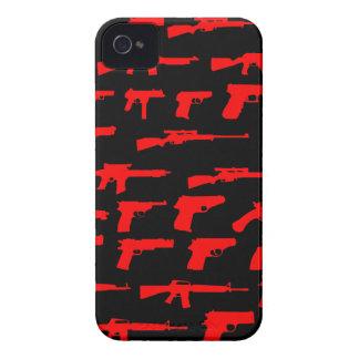 Gangster Guns iPhone 4 Cover