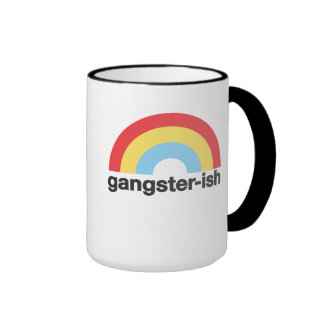 Gángster-ish Taza A Dos Colores