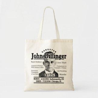 Gángster John Dillinger Bolsas De Mano