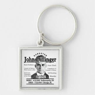 Gángster John Dillinger Llaveros