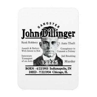 Gangster John Dillinger Magnet