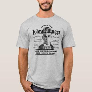 Gángster John Dillinger Playera