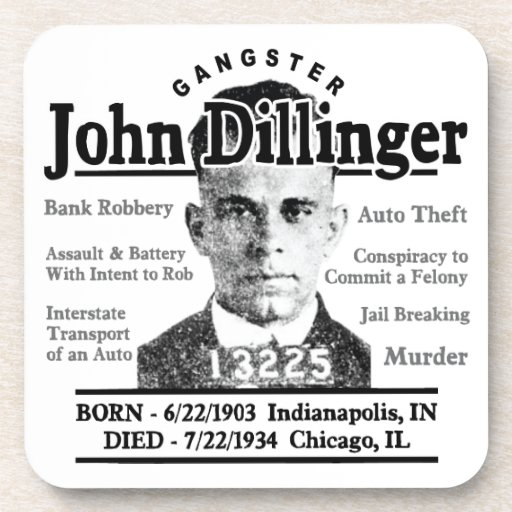 Gángster John Dillinger Posavaso
