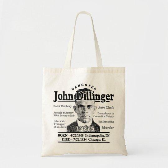 Gangster John Dillinger Tote Bag