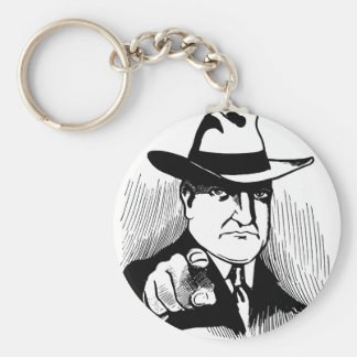 Gangster Keychain