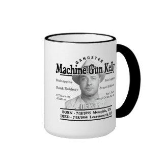 Gangster Machine Gun Kelly Ringer Mug