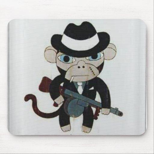 gangster mokey mousepad