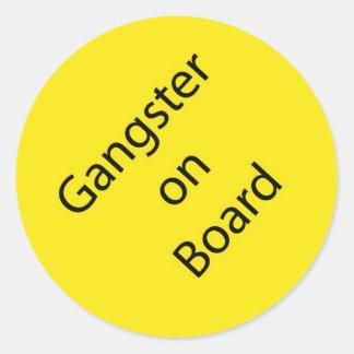 Gangster on Board Stickers