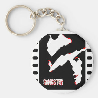 Gangster on Film Keychain