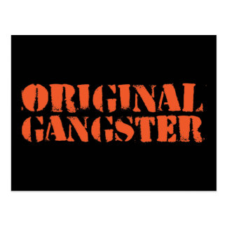 Gángster original postal