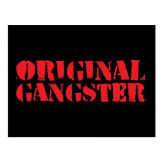 Gángster original postales