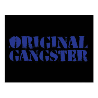 Gángster original tarjetas postales