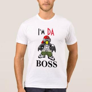Gangster penguin I am the boss T-Shirt