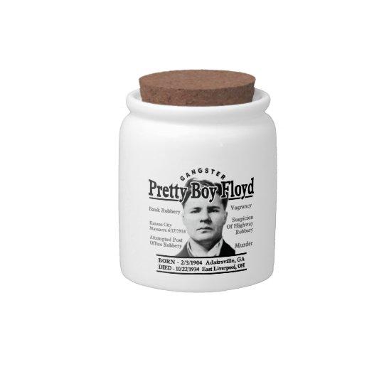 Gangster Pretty Boy Floyd Candy Dish