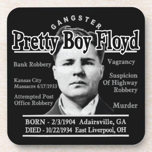 Gangster Pretty Boy Floyd Drink Coaster
