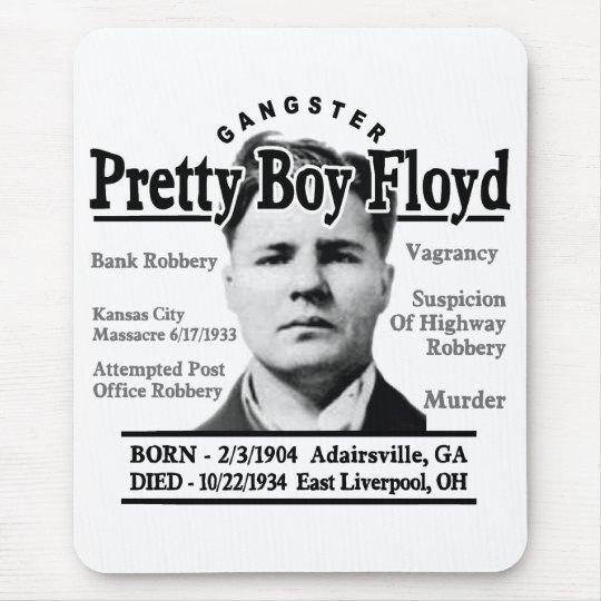 Gangster Pretty Boy Floyd Mouse Pad