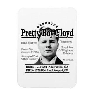 Gangster Pretty Boy Floyd Vinyl Magnet