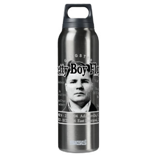 Gangster Pretty Boy Floyd Thermos Bottle