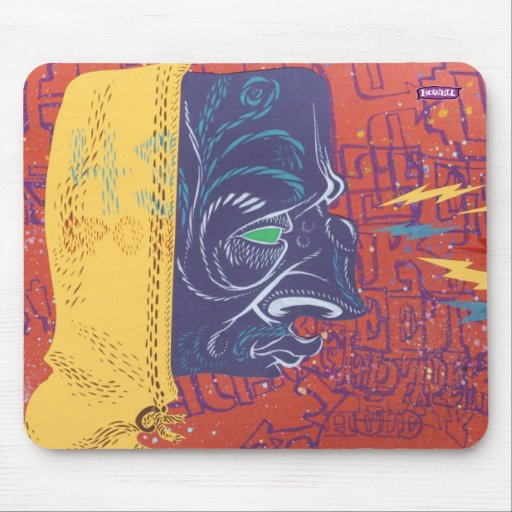 Gángster recto Macks 9 Mouse Pad