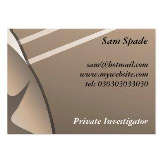 Gangster, Sam Spade Large Business Card