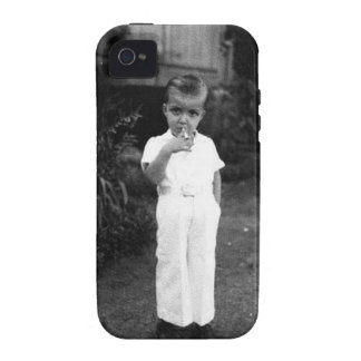 Gangster Smoke Old School iPhone 4/4S Covers