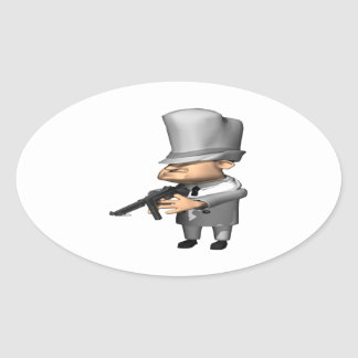 Gangster Stickers