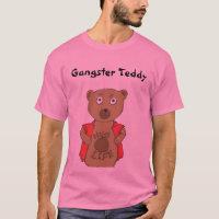 Gangster Teddy Bear T-Shirt