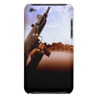 Gangster Uzi iPod Touch case Barely There
