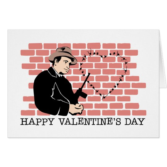 Gangster Valentine's Day Card