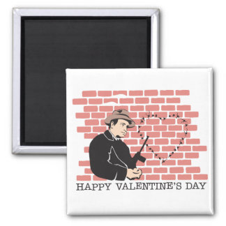 Gangster Valentine's Day Refrigerator Magnets