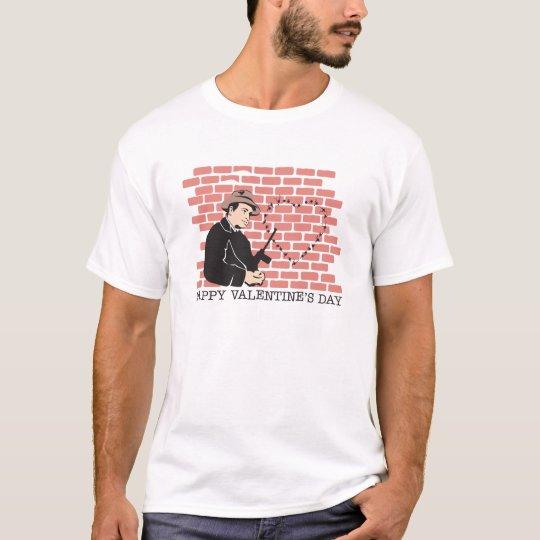 Gangster Valentine's Day T-Shirt