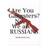 Gángsteres rusos Брат 2 Tarjetas Postales