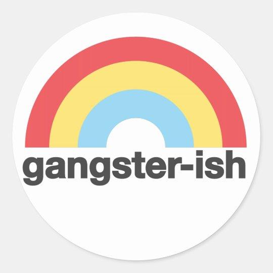 Gangsterish Sticker