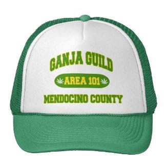 Ganja Guild Mendocino County Gift Trucker Hat