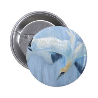 Gannets diving unique gifts for you badges