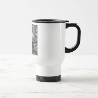 Gannets in Courtship Display Travel Mug