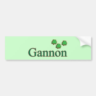 Gannon Family Bumper Sticker